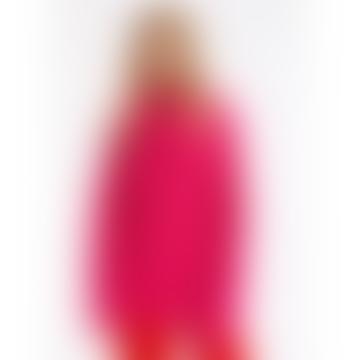 Anjou Pink Ribbed Sweater