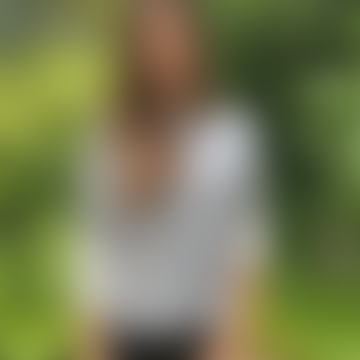 Gina Mid Grey/Ivory Cashmere Jumper