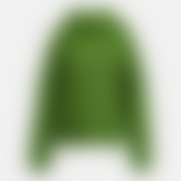 Anjou Chunky Ribbed Sweater Green