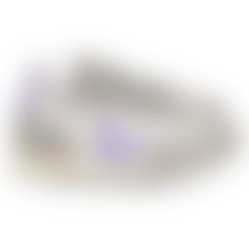 Rio White Hexamesh Kies-Lavendel-Trainer