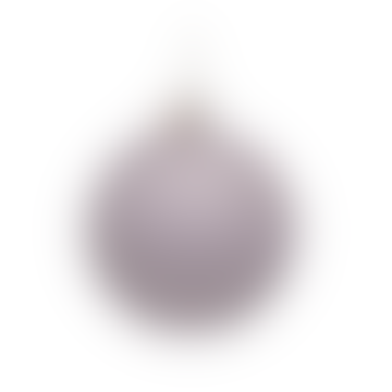 Glass Ornament White Golf Ball