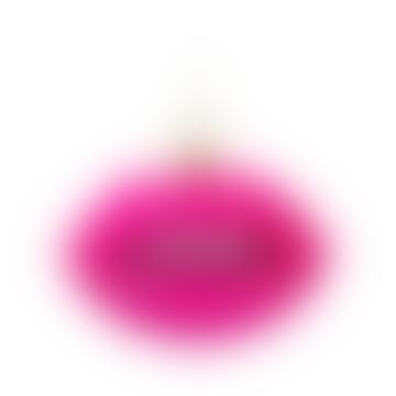 Glass Ornament Fuchsia Opal Sensual Lips