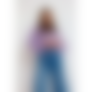 Chunky Kid Mohair Sweater Lilac