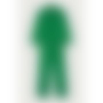 Tineborow gras grüner overall