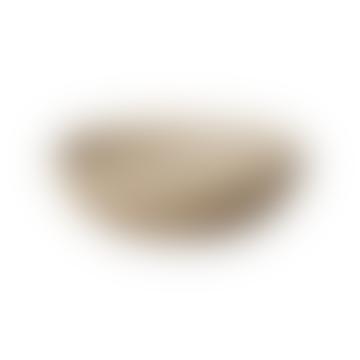 Round Bowl In Sand 185 X 55 Mm