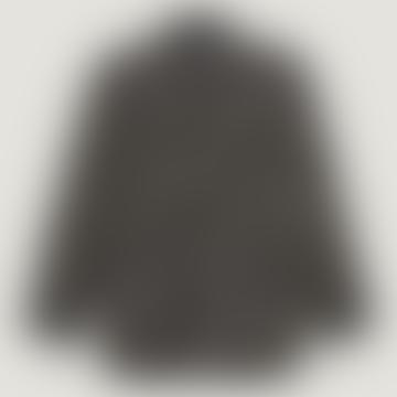 Leopold Oversized Woven Tweed Overshirt