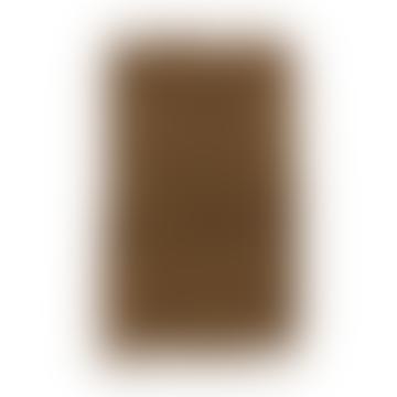 60x90cm Indian Tan Tufted Cotton Bath Mat