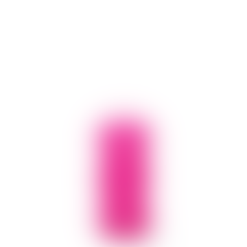 Blunt Twisted Candle Long Bright Pink