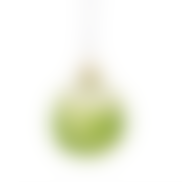 Brussel Sprout Glitter Bauble