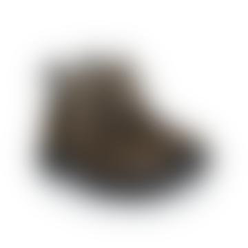 Usher Olive Suede Napa Nubuck Boots