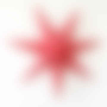 Cassiopeia Paper Star 90cm Cherry