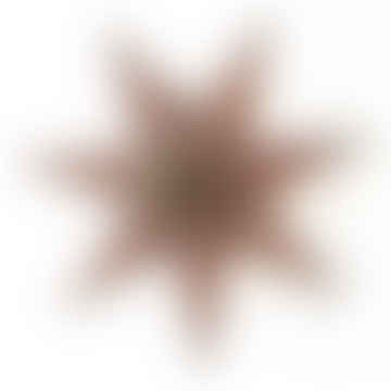 Diya-Papierstern 70 cm lila