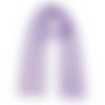 Wool Scarf Lilac