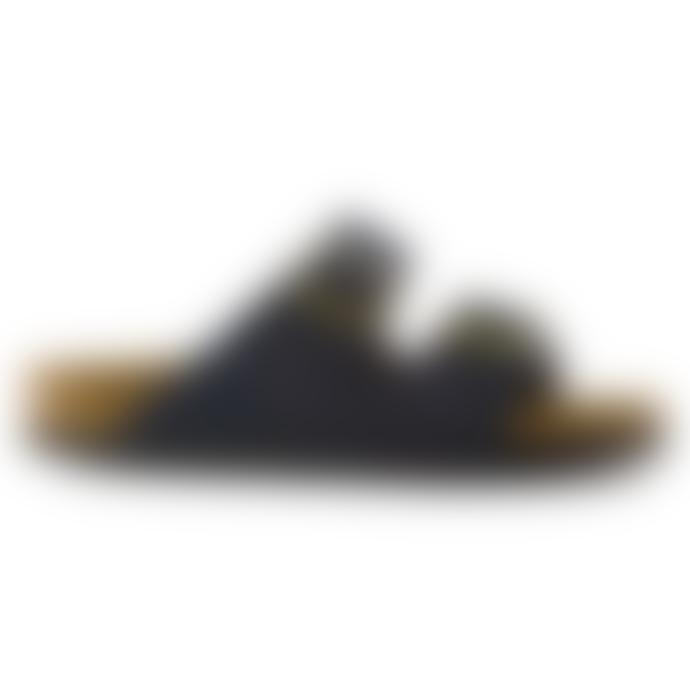 Birkenstock Arizona Navy Suede Sandals