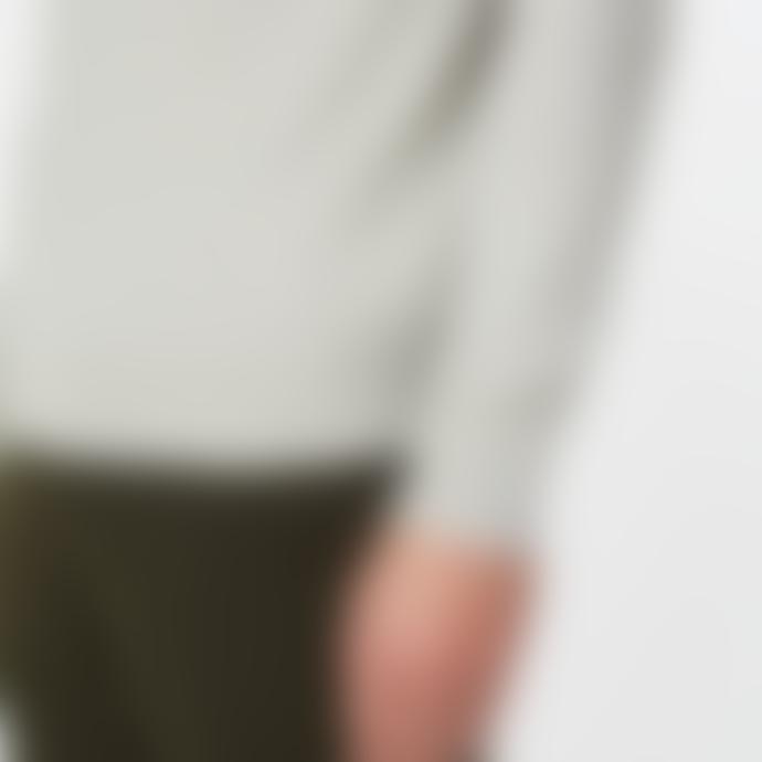 Les Deux Etienne Cashton Knit - Light Grey Melange