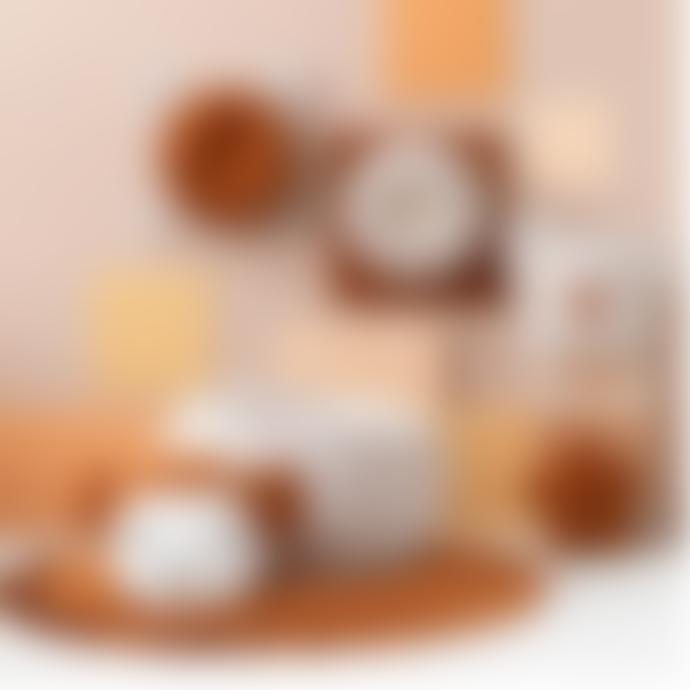 wigiwama Cinnamon Velvet Ruffle Playmat