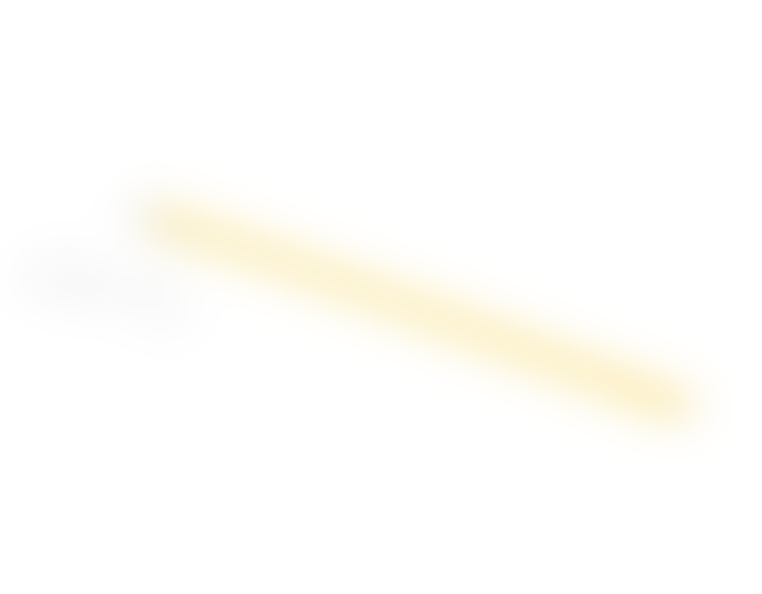 HAY Neon Tube LED Lamp Yellow