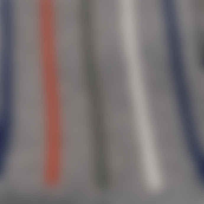 Democratique Socks Men's Socks - Lateral Stripe - Pack of 2