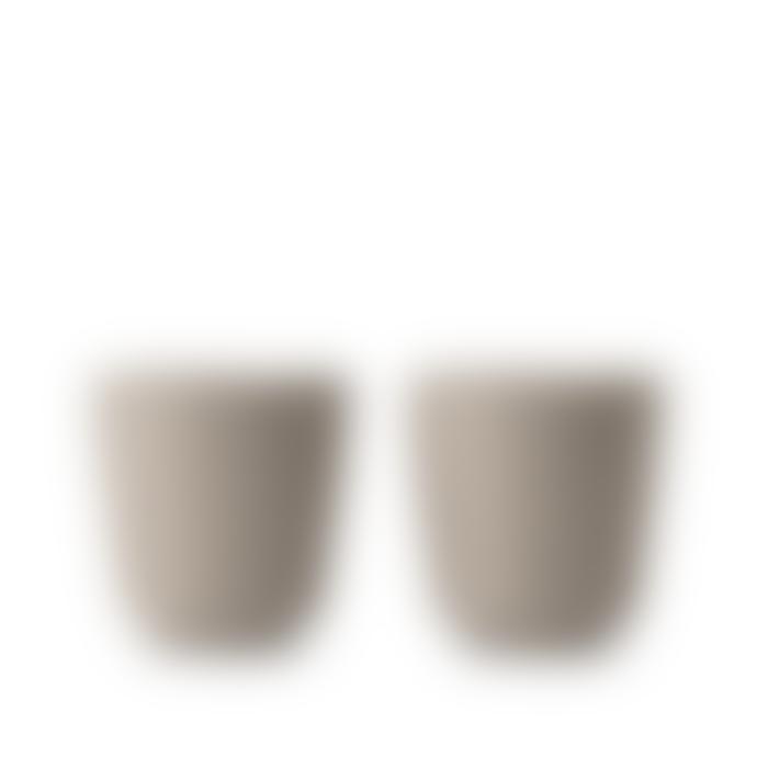 Rosendahl Copenhagen Set of 2 Sand Grand Cru Take Mugs