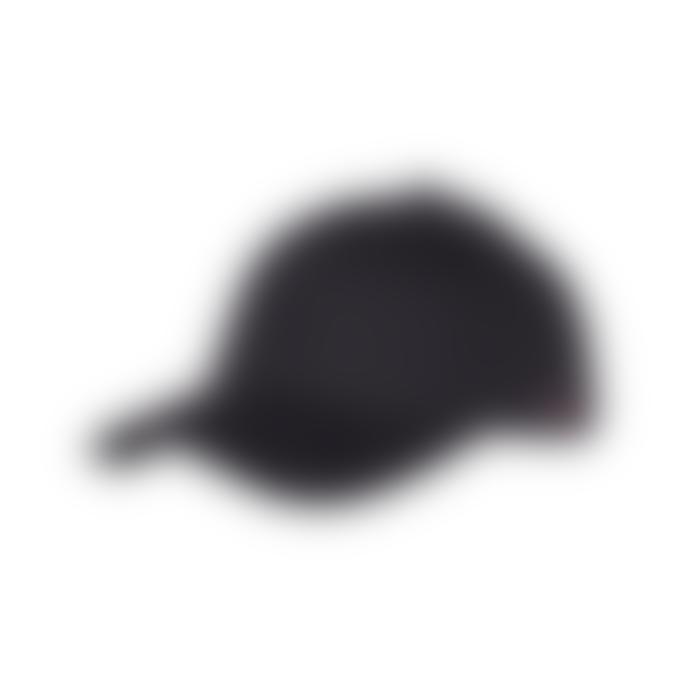 Les Deux Baseball Cap Suede II - Black