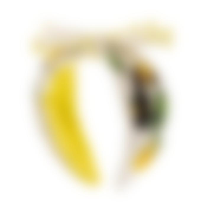 Alex Max Lemon Pelican Beaded Headband