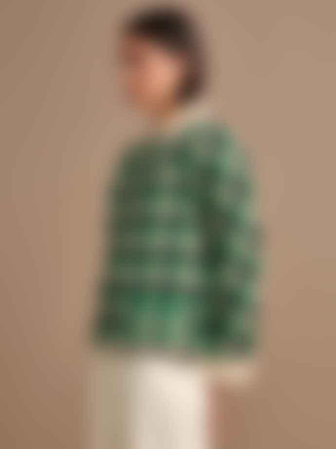 Bellerose Volders Wool Jacket In Green