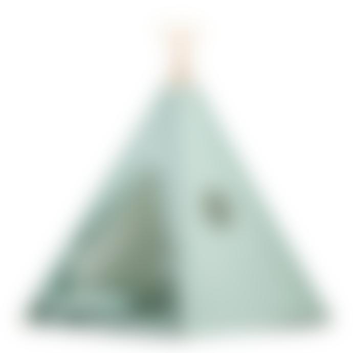 wigiwama Minty Green Teepee Set
