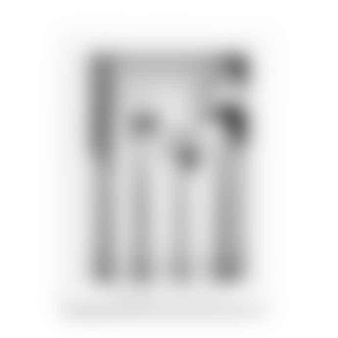 Chickidee Camden Matte Silver Cutlery Set X 1