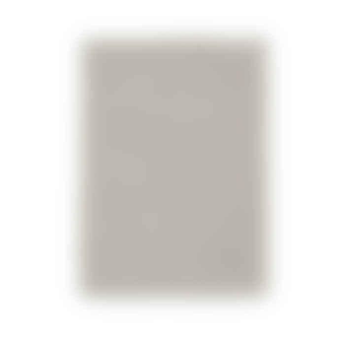 Fog Linen Work Black & Natural Stripe Linen Tea Towel