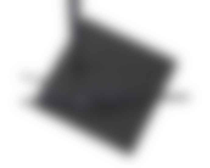 Frezoli Tubino Table Lamp Dark Brown Black Finish