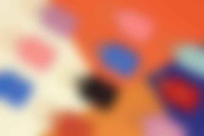 Ark Colour Design Boob Leather Key Fob Lilac