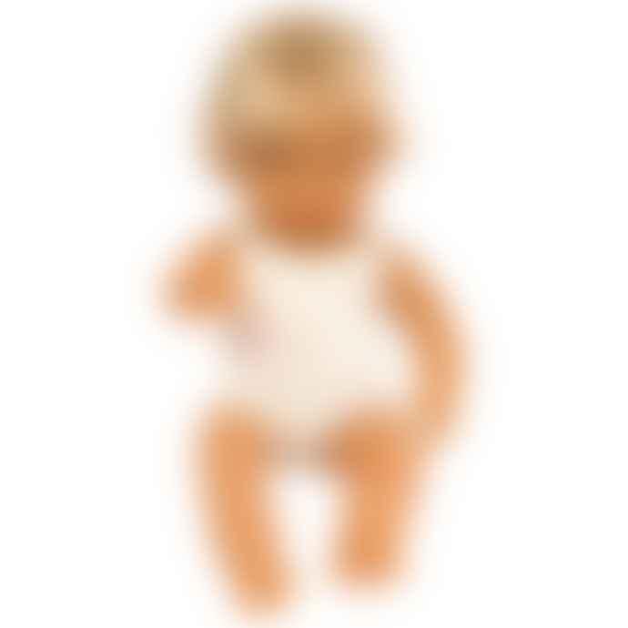 Miniland Caucasian Boy Doll 38cm