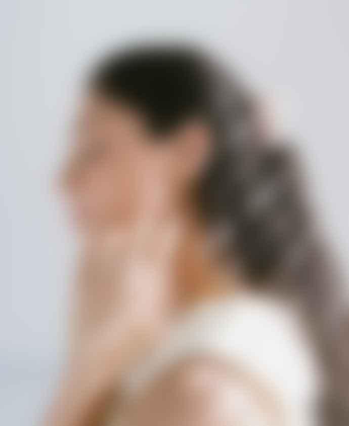Daisy London Amazonite Healing Stone Huggie Earrings