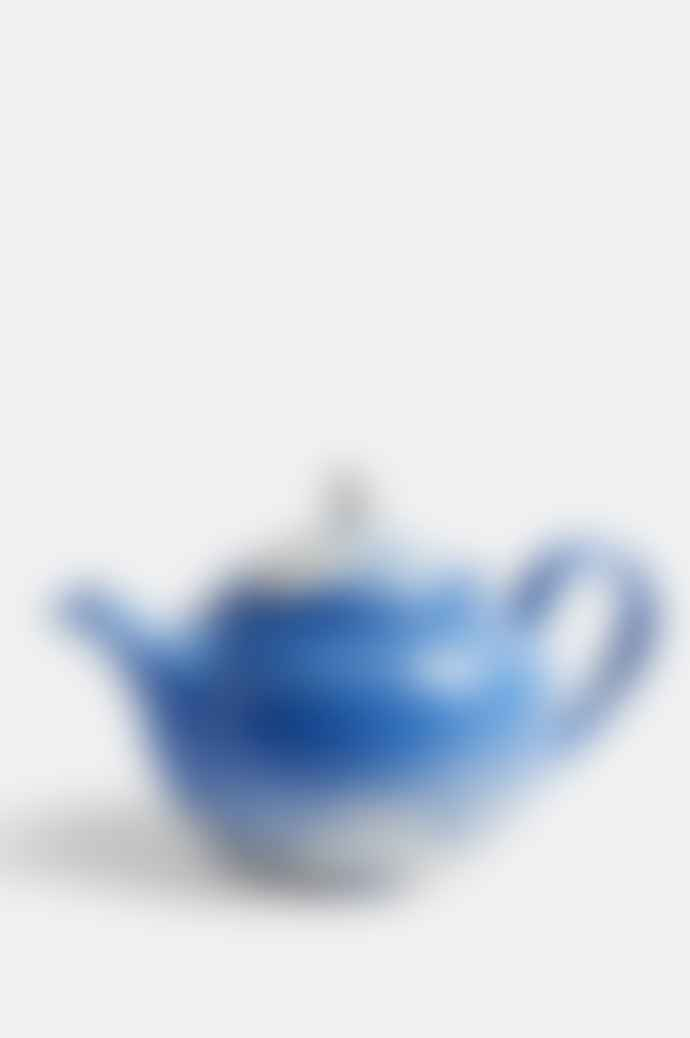 HAY Marbled Teapot 0 8 L In Blue
