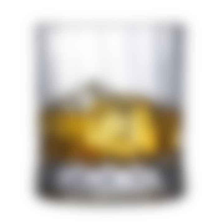Nude Glass Set of 4 Ribbed Lead Free Crystal Wayne Whisky Tumblers 300cc
