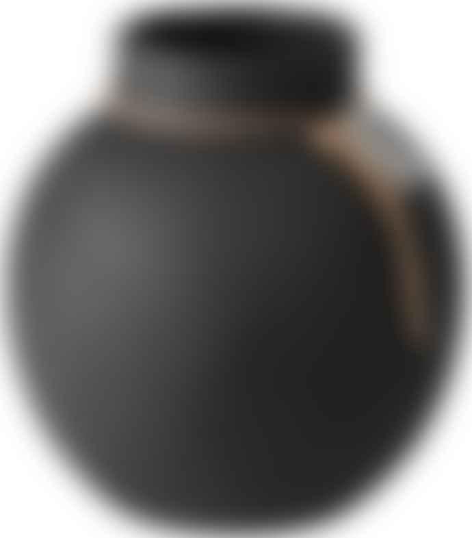 Ernst Stone Vase Dark Grey