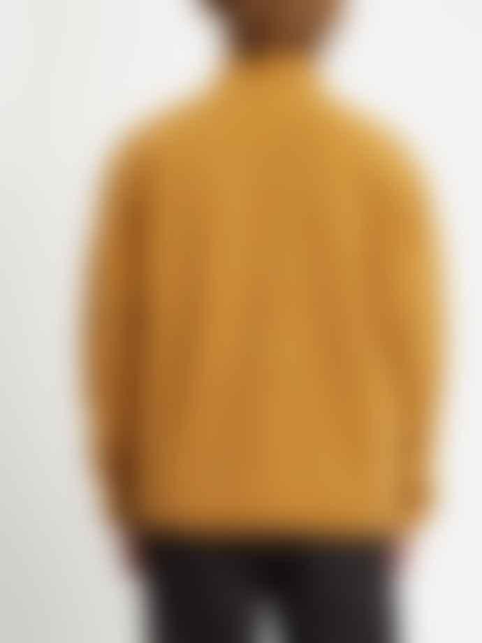 Volcom Muzzer Fuzzar Zip Sweatshirt Golden Brown
