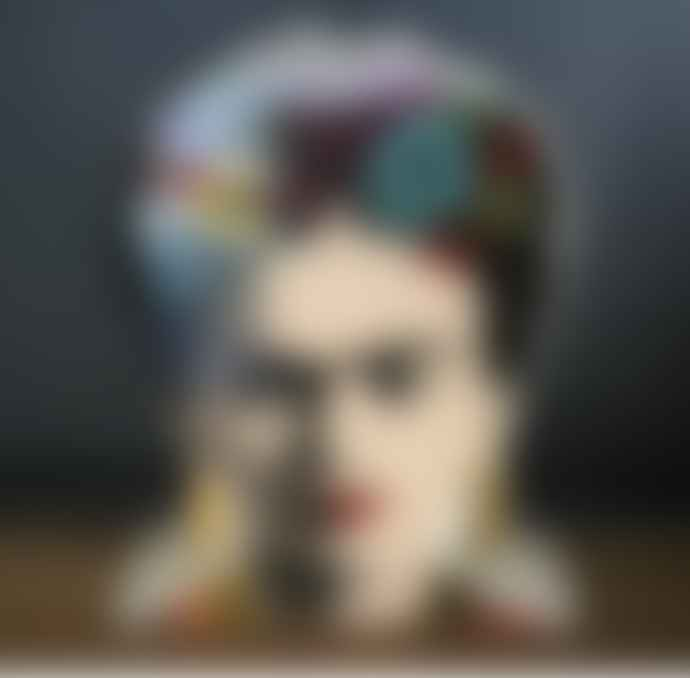 Frida Kahlo Vase