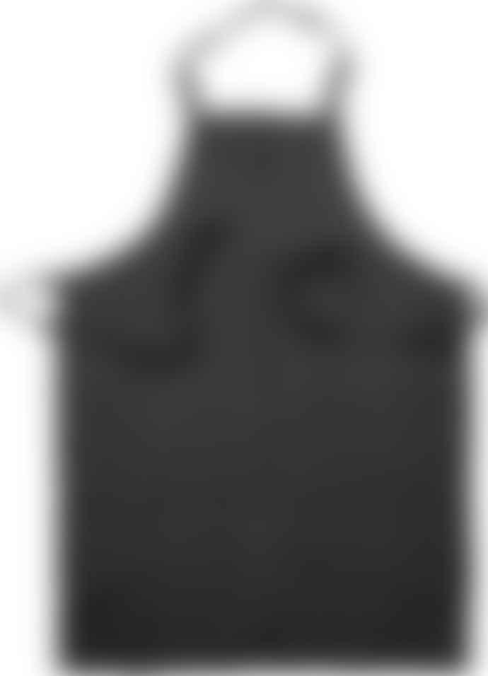 Ernst Dark Grey Linen Apron