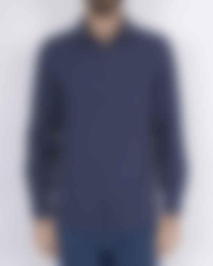 Portuguese Flannel Rude Shirt Blue