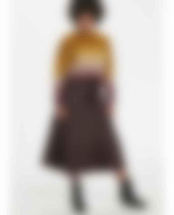 Karen By Simonson Crown Leather Skirt