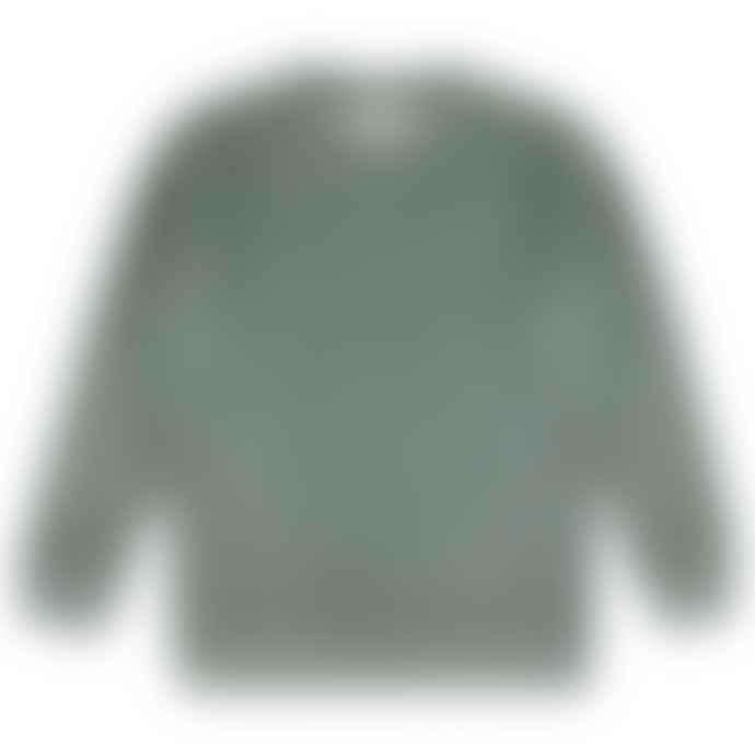 Castart Bill Inside Out Sweater Middle Grey