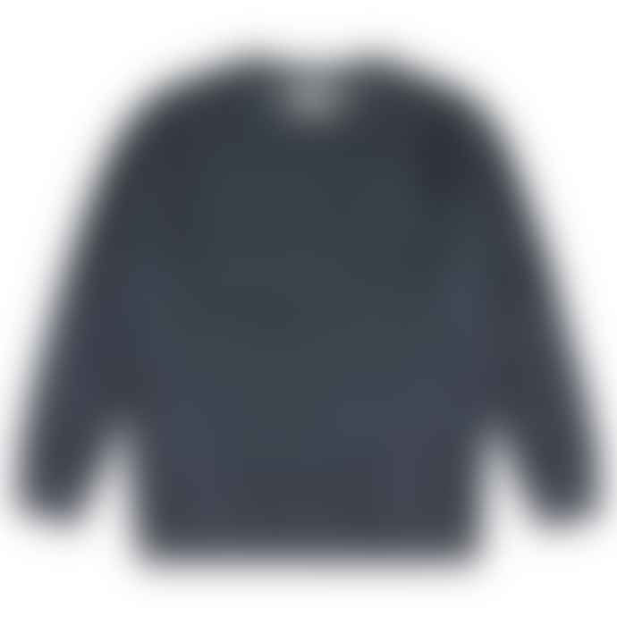 Castart Bill Inside Out Sweater Navy Blue