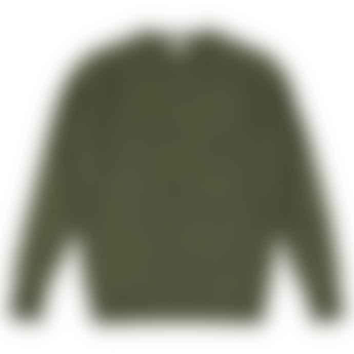 Castart Wassily Kaki Speckle Merino Alpaca Knit