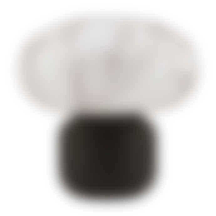 Mink Interiors Collette Table Lantern - White Marble