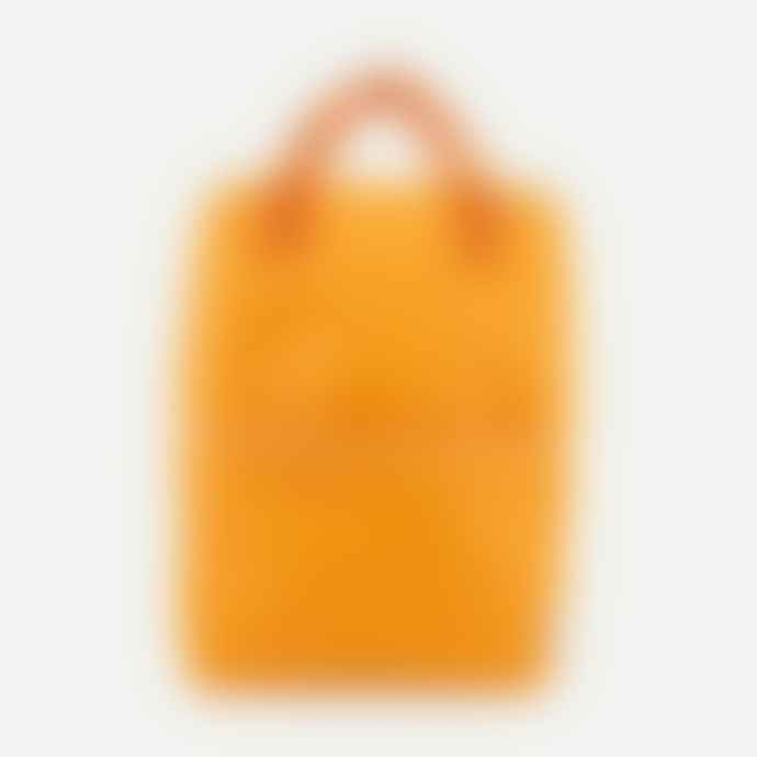 Sticky Lemon Large Backpack Sunny Yellow Carrot Freckles