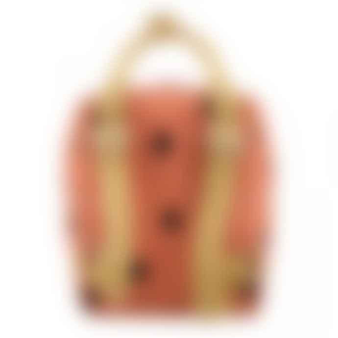 Sticky Lemon Small Backpack Faded Orange Freckles