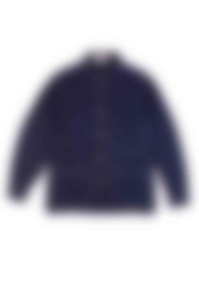 LF Markey Puff Sleeve Chore Coat Navy