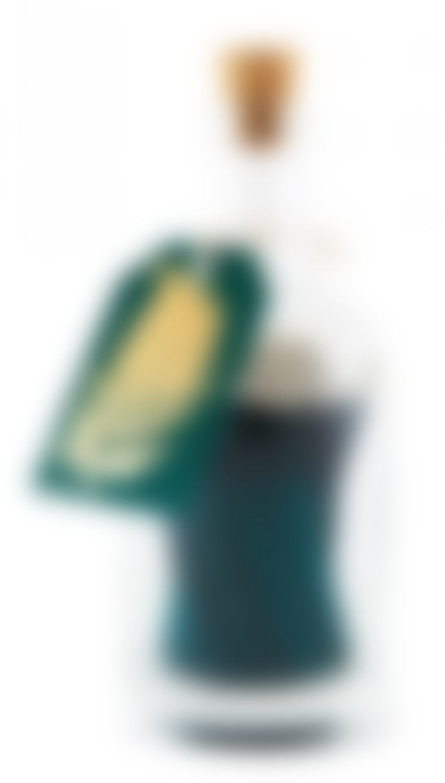 Archivist Gold Fern On Green Sticks Match Bottles Set Of 2