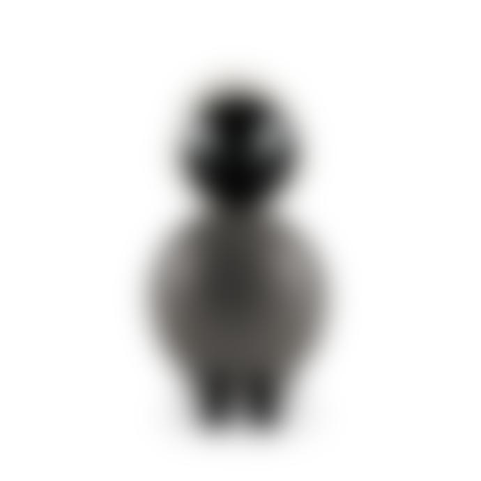 KAY BOJESEN DENMARK Grey And Light Grey Ernst Songbird Figurine